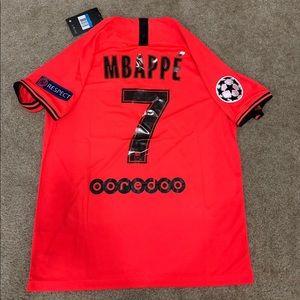 NEW Mbappe PSG Jordan 2020 Jersey